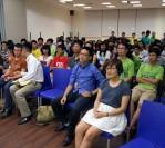 Chào đón sinh viên nhập học NTU 2013, Singapore