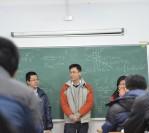 Học sinh K5 tại NUS, NTU về thăm K6