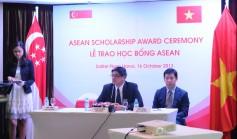 Lễ trao học bổng ASEAN 2013-2014, trung học