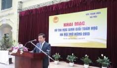 Kết quả thi toán Hà Nội mở rộng: HOMC 2015