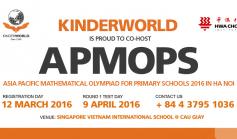 Đăng ký dự thi APMOPS 2016